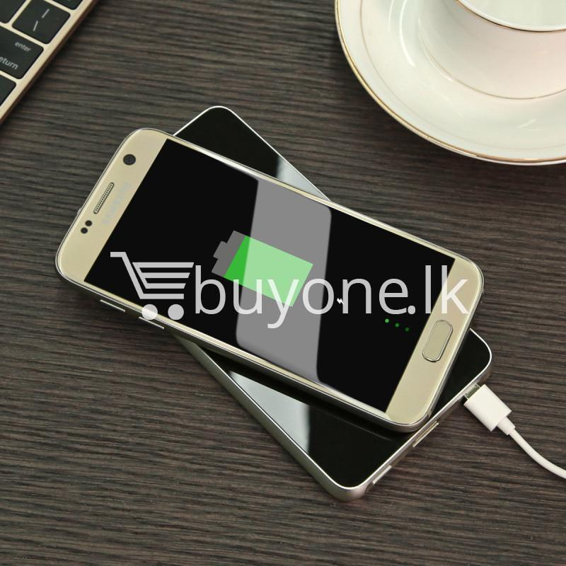 baseus wireless charging base with fast charger power bank 5000mah for iphone samsung htc mi mobile phones mobile phone accessories special best offer buy one lk sri lanka 74393 - BASEUS Wireless Charging Base with Fast Charger Power Bank 5000mAh For iPhone Samsung HTC MI Mobile Phones