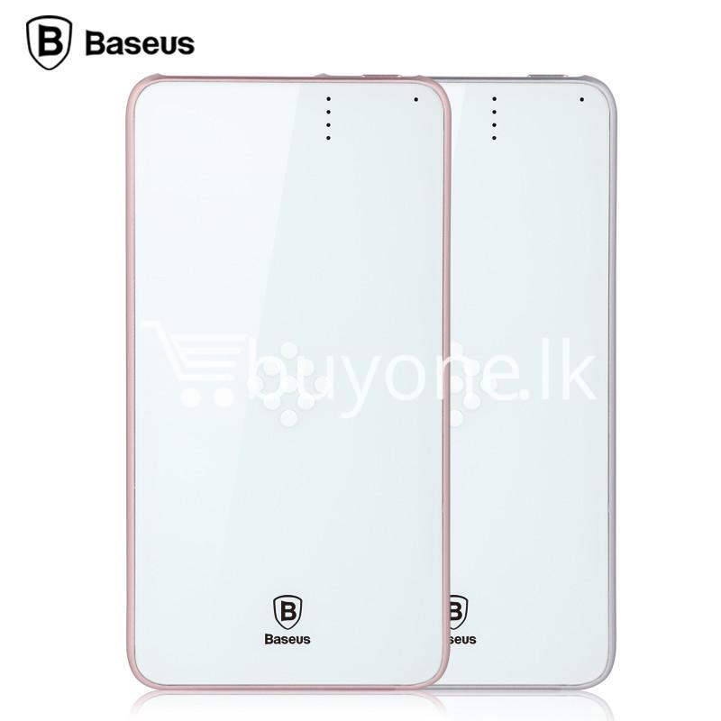 baseus wireless charging base with fast charger power bank 5000mah for iphone samsung htc mi mobile phones mobile phone accessories special best offer buy one lk sri lanka 74395 - BASEUS Wireless Charging Base with Fast Charger Power Bank 5000mAh For iPhone Samsung HTC MI Mobile Phones
