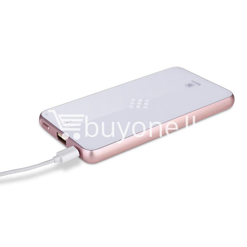 baseus wireless charging base with fast charger power bank 5000mah for iphone samsung htc mi mobile phones mobile phone accessories special best offer buy one lk sri lanka 74399 - BASEUS Wireless Charging Base with Fast Charger Power Bank 5000mAh For iPhone Samsung HTC MI Mobile Phones
