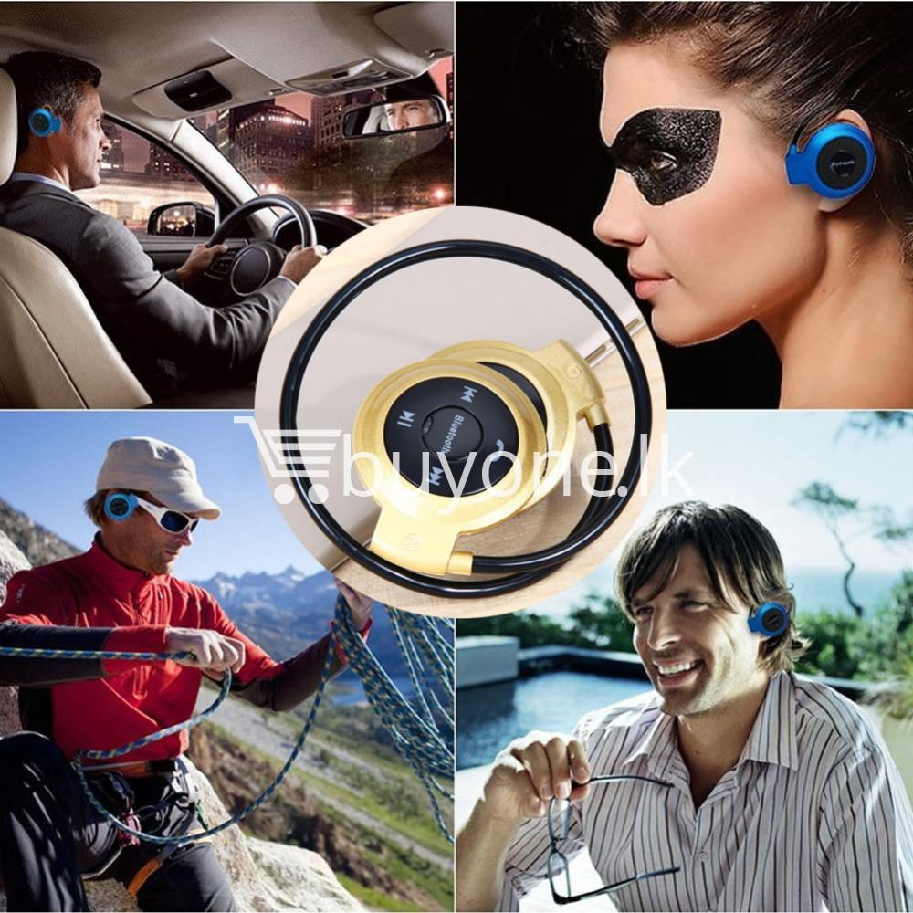 new mini 503 neckband sport wireless bluetooth stereo headset mobile phone accessories special best offer buy one lk sri lanka 49554 - New Mini 503 Neckband Sport Wireless Bluetooth Stereo Headset