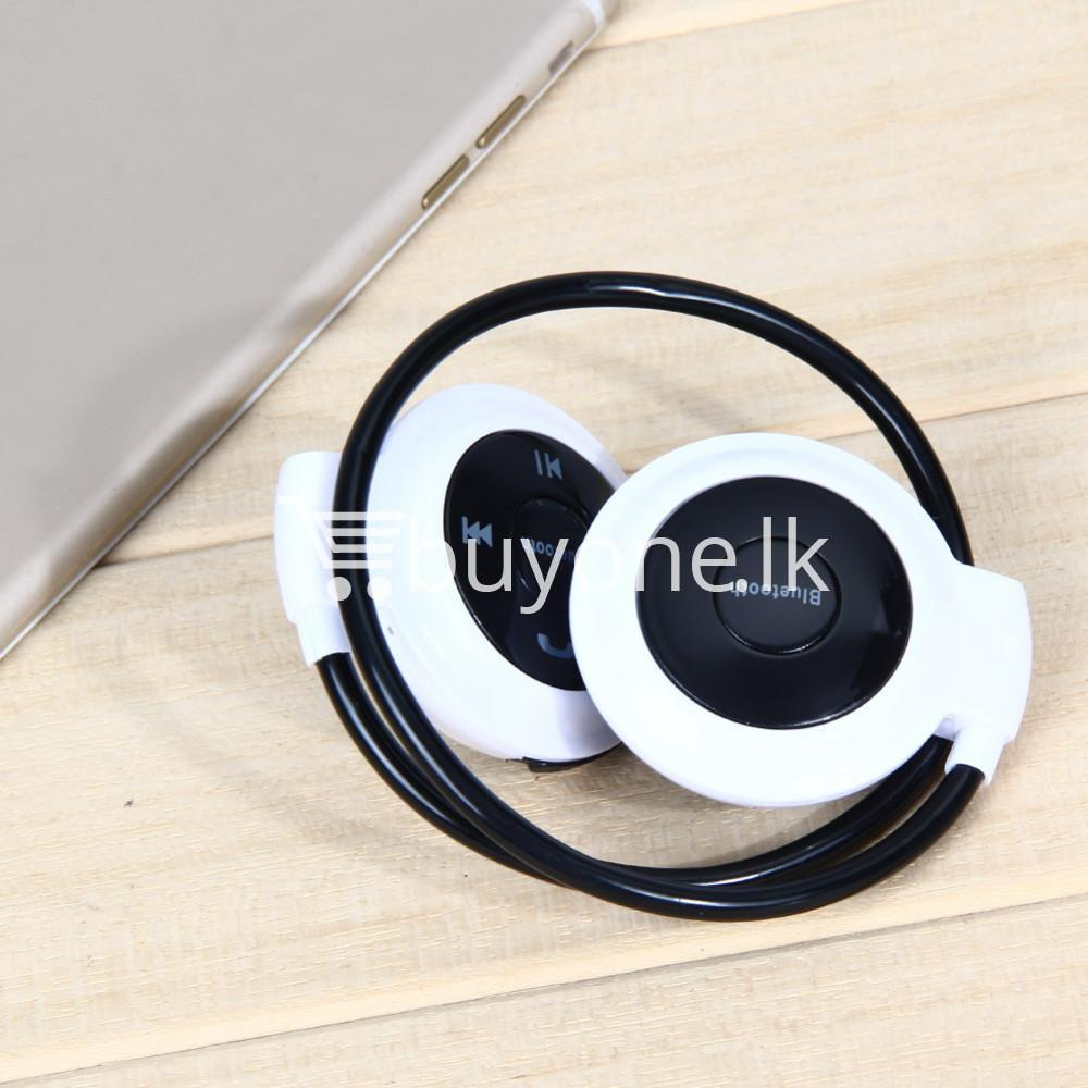 new mini 503 neckband sport wireless bluetooth stereo headset mobile phone accessories special best offer buy one lk sri lanka 49560 - New Mini 503 Neckband Sport Wireless Bluetooth Stereo Headset