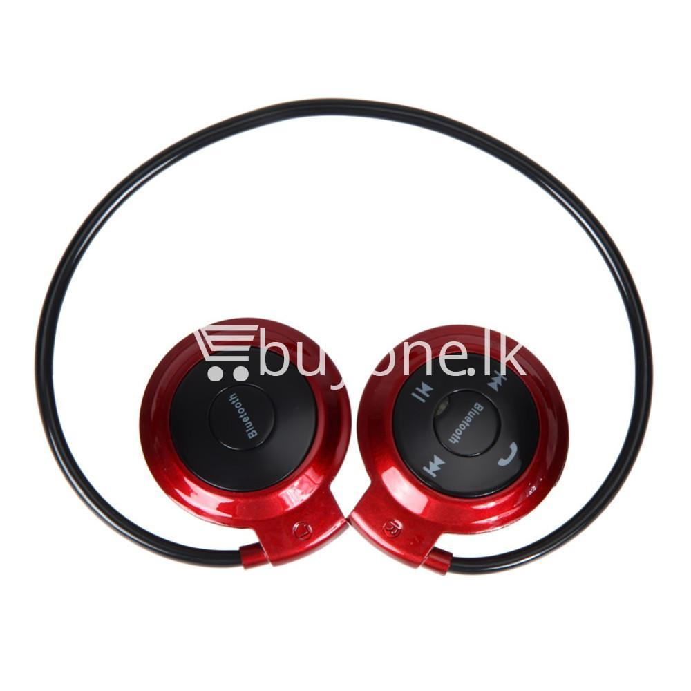 new mini 503 neckband sport wireless bluetooth stereo headset mobile phone accessories special best offer buy one lk sri lanka 49571 - New Mini 503 Neckband Sport Wireless Bluetooth Stereo Headset