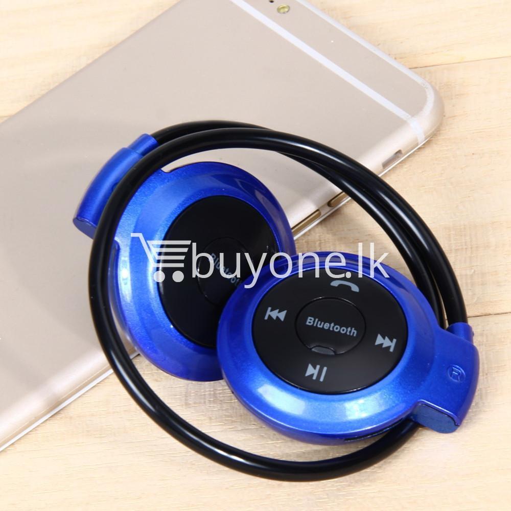 new mini 503 neckband sport wireless bluetooth stereo headset mobile phone accessories special best offer buy one lk sri lanka 49574 - New Mini 503 Neckband Sport Wireless Bluetooth Stereo Headset