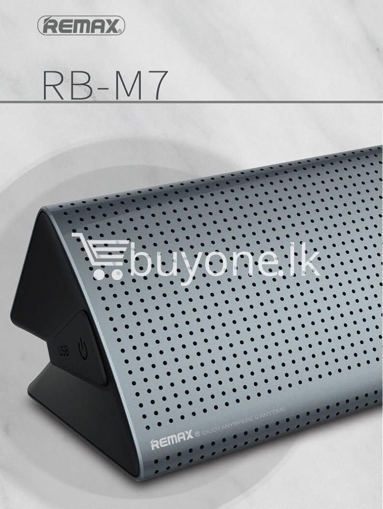 new original remax bluetooth aluminum alloy metal speaker computer accessories special best offer buy one lk sri lanka 56964 - New Original Remax Bluetooth Aluminum Alloy Metal Speaker