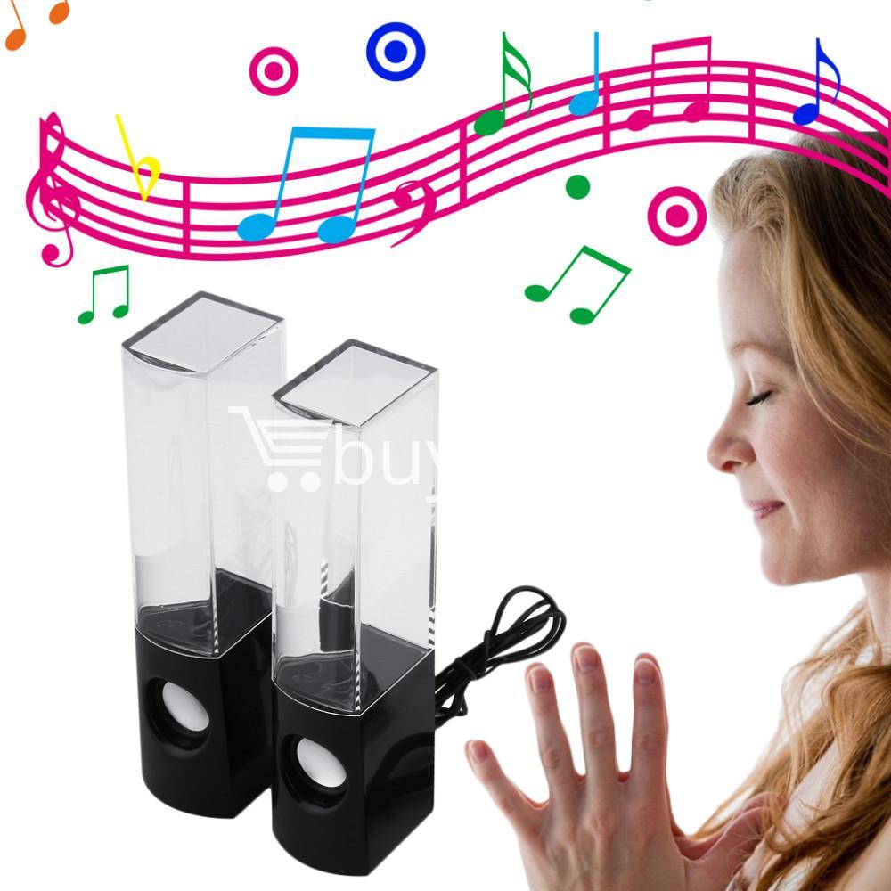 new usb water dancing fountain stereo music speakers computer accessories special best offer buy one lk sri lanka 13572 - New USB Water Dancing Fountain Stereo Music Speakers