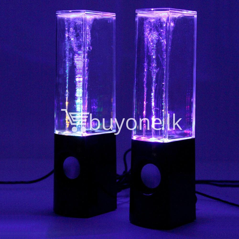 new usb water dancing fountain stereo music speakers computer accessories special best offer buy one lk sri lanka 13573 - New USB Water Dancing Fountain Stereo Music Speakers