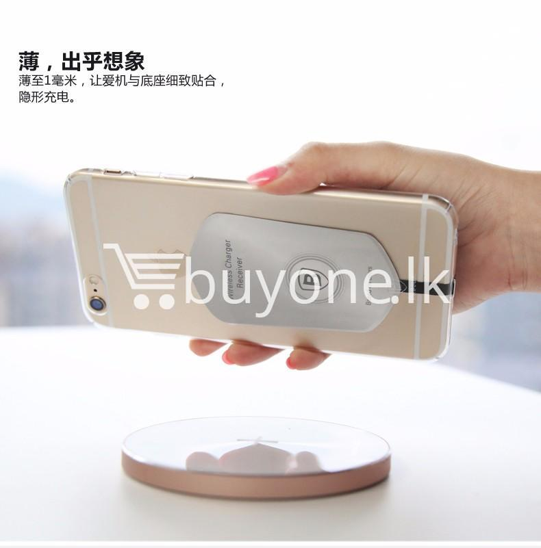 original baseus qi wireless charger charging receiver for iphone android mobile phone accessories special best offer buy one lk sri lanka 72721 - Original Baseus QI Wireless Charger Charging Receiver For iPhone Android