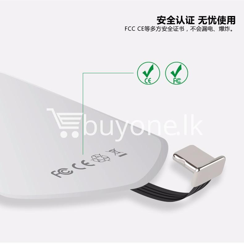 original baseus qi wireless charger charging receiver for iphone android mobile phone accessories special best offer buy one lk sri lanka 72729 - Original Baseus QI Wireless Charger Charging Receiver For iPhone Android