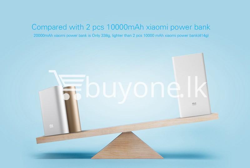 original mi xiaomi 20000mah power bank mobile phone accessories special best offer buy one lk sri lanka 78751 - Original Mi Xiaomi 20000mAh Power Bank