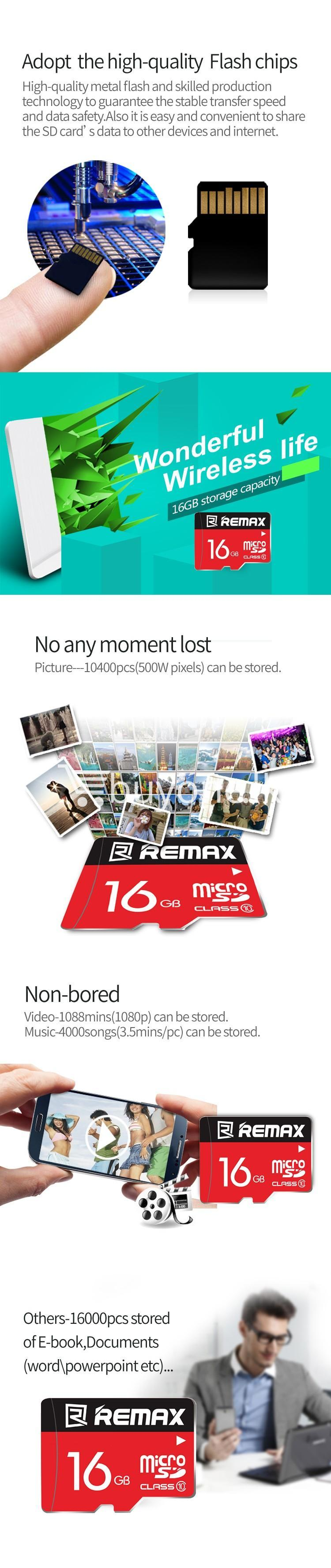 original remax 16gb memory card micro sd card class 10 mobile phone accessories special best offer buy one lk sri lanka 58975 - Original Remax 16GB Memory Card Micro SD Card Class 10