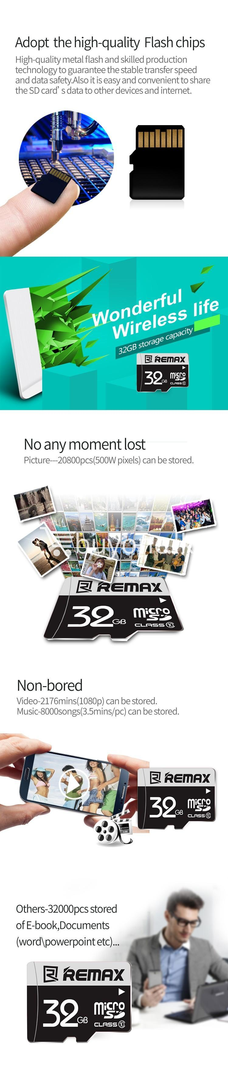 original remax 32gb memory card micro sd card class 10 mobile phone accessories special best offer buy one lk sri lanka 60950 - Original Remax 32GB Memory Card Micro SD Card Class 10