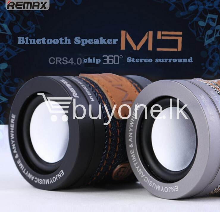 original remax m5 portable mini wireless bluetooth speaker mobile phone accessories special best offer buy one lk sri lanka 01178 1 - Original REMAX M5 Portable Mini Wireless Bluetooth Speaker