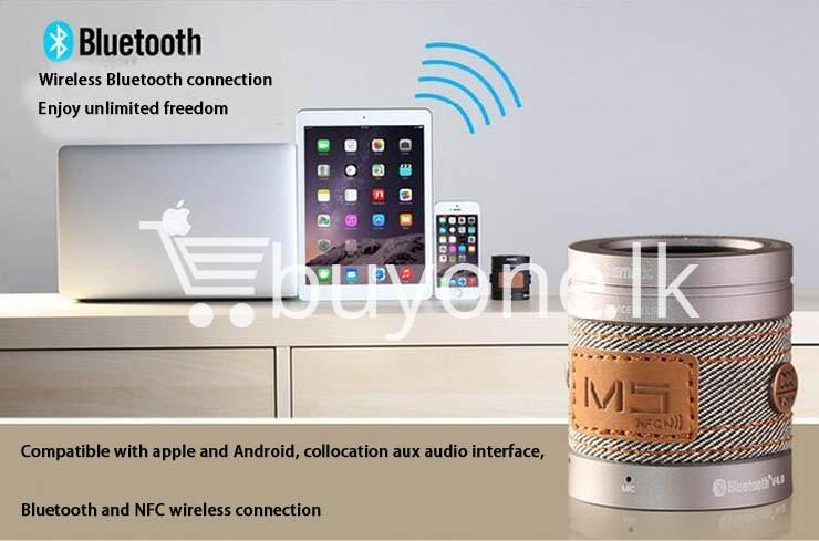 original remax m5 portable mini wireless bluetooth speaker mobile phone accessories special best offer buy one lk sri lanka 01183 - Original REMAX M5 Portable Mini Wireless Bluetooth Speaker