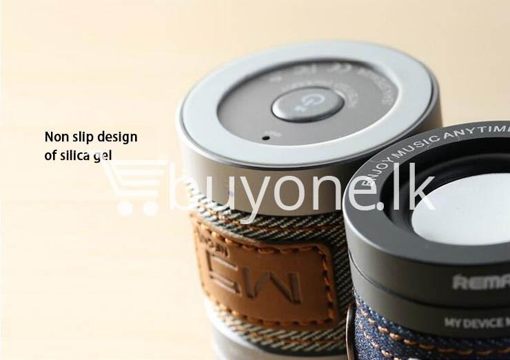 original remax m5 portable mini wireless bluetooth speaker mobile phone accessories special best offer buy one lk sri lanka 01189 1 - Original REMAX M5 Portable Mini Wireless Bluetooth Speaker