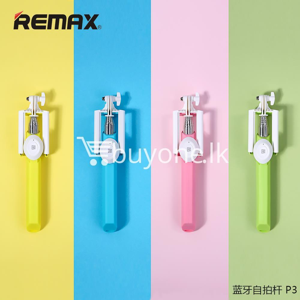 original remax p3 bluetooth selfie stick mobile phone accessories special best offer buy one lk sri lanka 56408 - Original REMAX P3 Bluetooth Selfie Stick