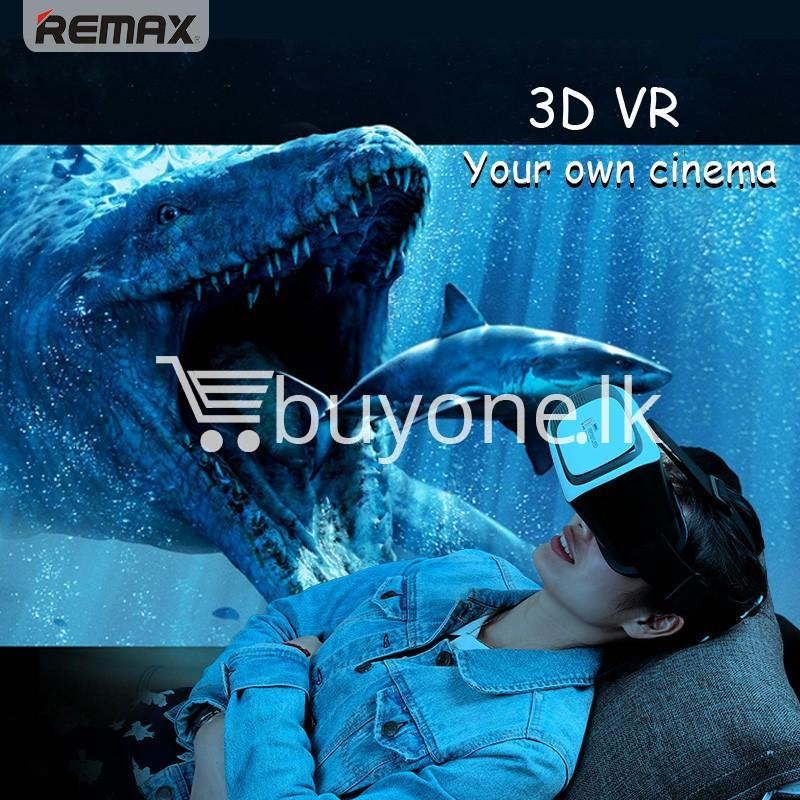 original remax vr box vr rt v01 virtual reality 3d glasses mobile phone accessories special best offer buy one lk sri lanka 11099 - Original Remax VR BOX  VR RT-V01 Virtual Reality 3D Glasses