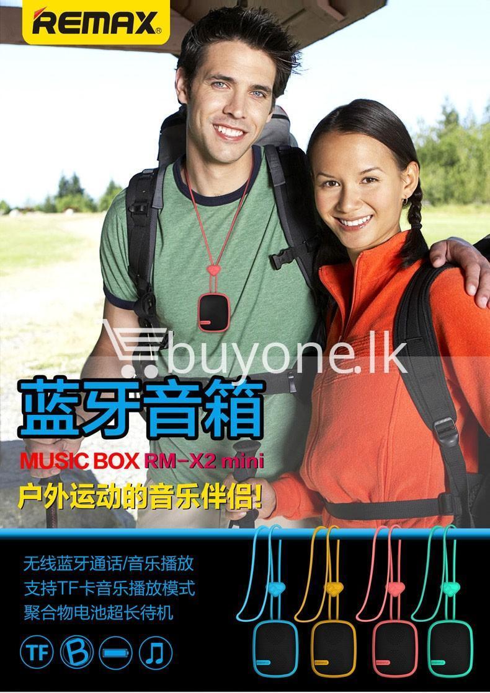 original remax waterproof music box wireless bluetooth speaker mobile phone accessories special best offer buy one lk sri lanka 42331 - Original Remax Waterproof Music Box Wireless Bluetooth Speaker