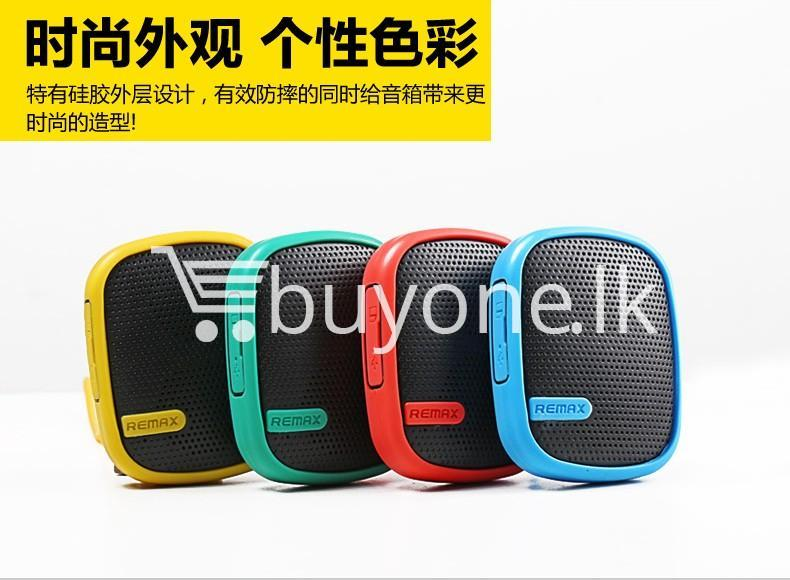 original remax waterproof music box wireless bluetooth speaker mobile phone accessories special best offer buy one lk sri lanka 42334 1 - Original Remax Waterproof Music Box Wireless Bluetooth Speaker