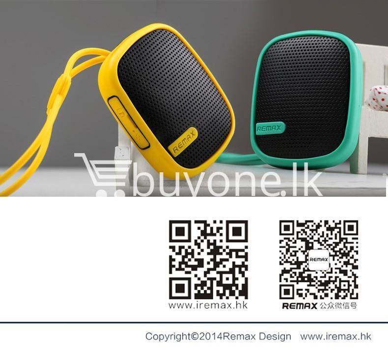 original remax waterproof music box wireless bluetooth speaker mobile phone accessories special best offer buy one lk sri lanka 42340 - Original Remax Waterproof Music Box Wireless Bluetooth Speaker