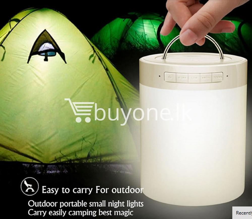portable touch led lamp night light wireless bluetooth speaker mobile phone accessories special best offer buy one lk sri lanka 11974 - Portable Touch LED Lamp Night Light Wireless Bluetooth Speaker