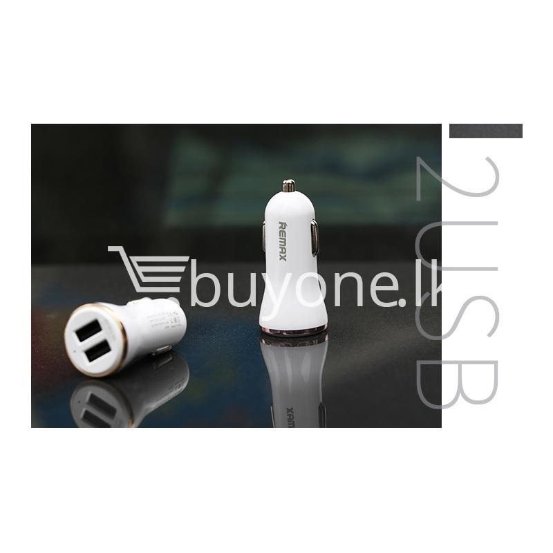 remax dolfin dual usb post 2.4a smart car charger for iphone ipad samsung htc mobile store special best offer buy one lk sri lanka 13098 - REMAX Dolfin Dual USB Port 2.4A Smart Car Charger for iPhone iPad Samsung HTC