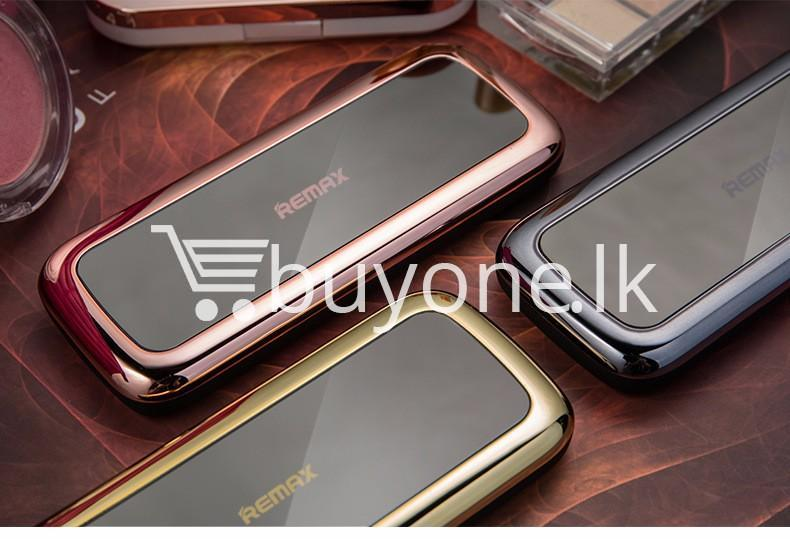 remax mirror 10000mah fashion power bank portable charger mobile store special best offer buy one lk sri lanka 81686 - Remax Mirror 10000Mah Fashion Power Bank Portable Charger