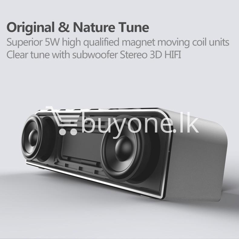 remax rb m8 portable aluminum wireless bluetooth 4.0 speakers with clear bass computer accessories special best offer buy one lk sri lanka 57642 - REMAX RB-M8 Portable Aluminum Wireless Bluetooth 4.0 Speakers with Clear Bass