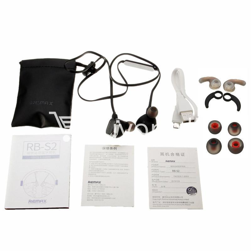 remax rm s2 new mini sports magnet wireless bluetooth headset stereo mobile phone accessories special best offer buy one lk sri lanka 48871 - REMAX RM-S2 New Mini Sports Magnet Wireless Bluetooth Headset Stereo