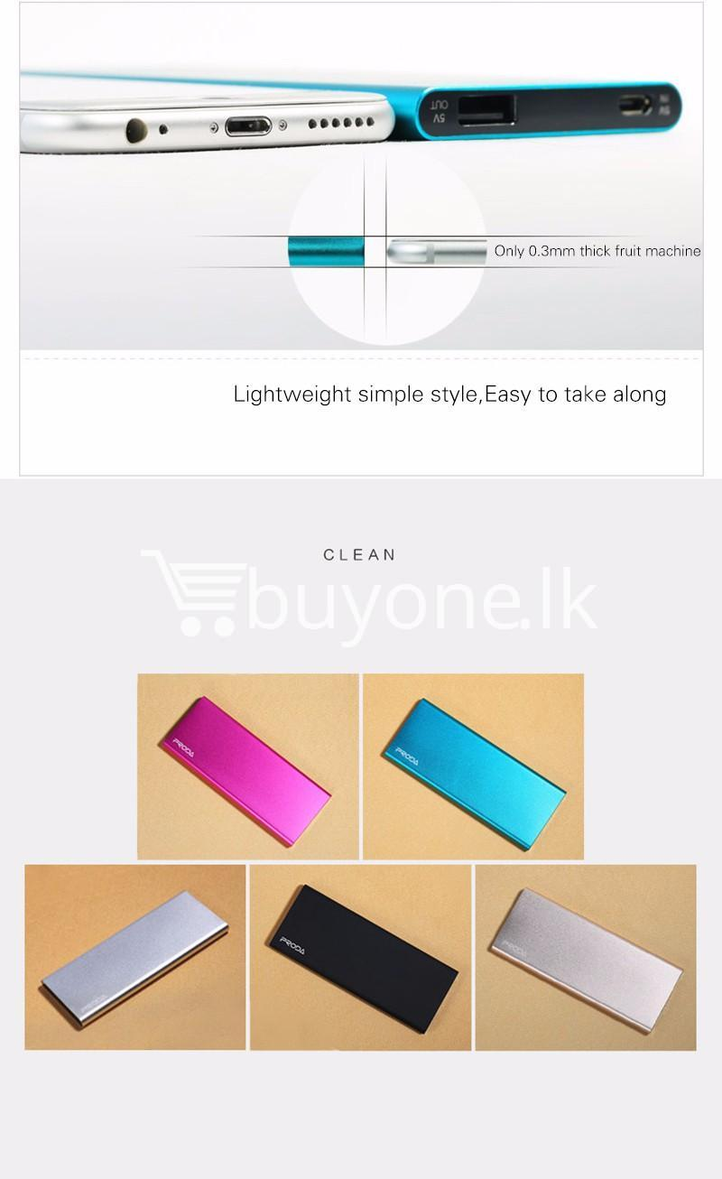 remax ultra slim power bank 8000 mah portable charger for iphone samsung htc lg mobile phone accessories special best offer buy one lk sri lanka 73717 - REMAX Ultra Slim Power Bank 8000 mAh Portable Charger For iPhone Samsung HTC LG
