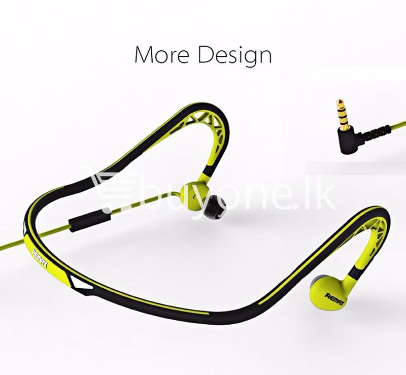 stylish remax in ear sports sweat proof neckband earphones mobile phone accessories special best offer buy one lk sri lanka 86303 - Stylish REMAX In-Ear Sports Sweat-proof Neckband Earphones