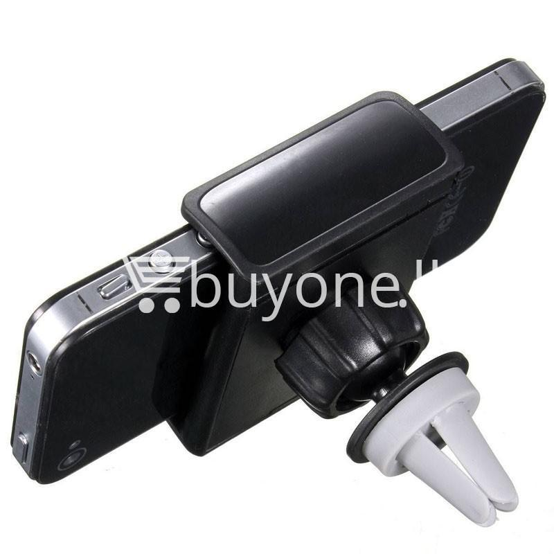 360 degrees universal car air vent phone holder mobile phone accessories special best offer buy one lk sri lanka 20275 - 360 Degrees Universal Car Air Vent Phone Holder