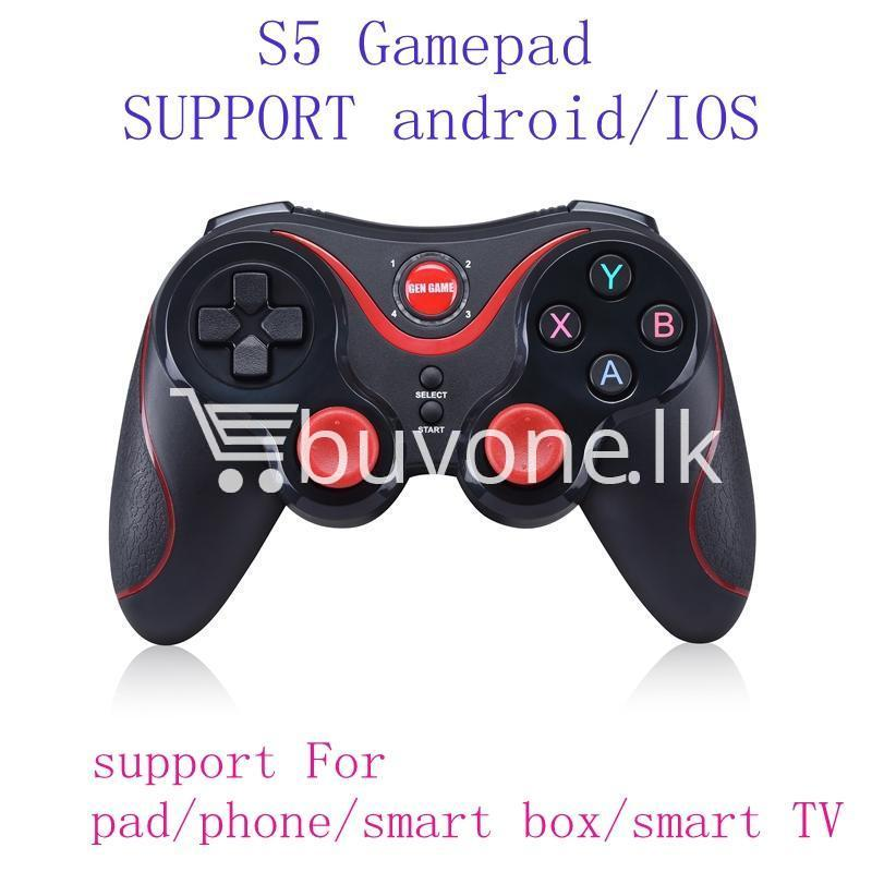 gen game s5 wireless bluetooth controller gamepad for ios android os phone tablet pc smart tv with holder special best offer buy one lk sri lanka 00577 - GEN GAME S5 Wireless Bluetooth Controller Gamepad For IOS Android OS Phone Tablet PC Smart TV With Holder