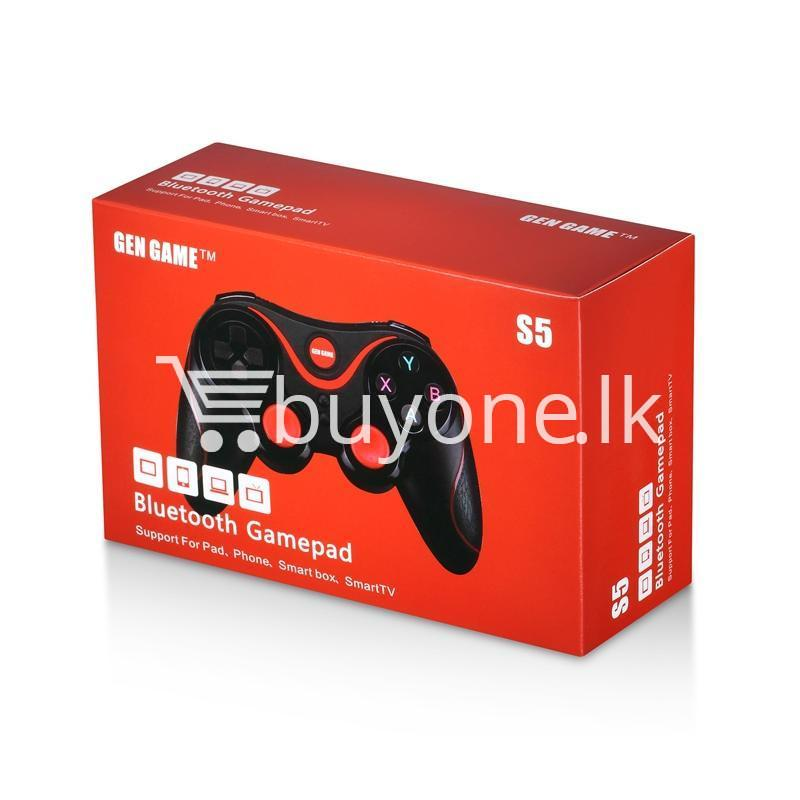 gen game s5 wireless bluetooth controller gamepad for ios android os phone tablet pc smart tv with holder special best offer buy one lk sri lanka 00581 - GEN GAME S5 Wireless Bluetooth Controller Gamepad For IOS Android OS Phone Tablet PC Smart TV With Holder
