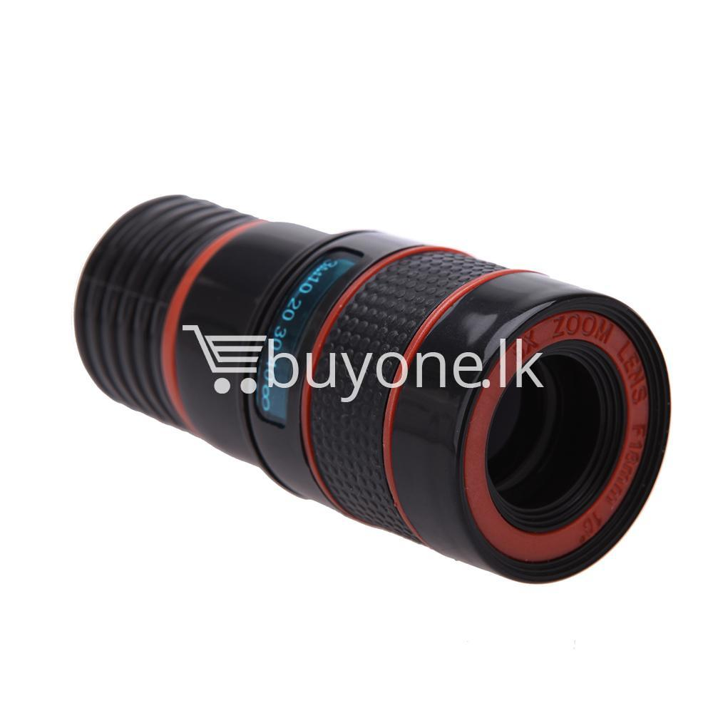 universal special design 8x zoom phone lens telephoto camera lens for iphone samsung htc xiaomi mobile phone accessories special best offer buy one lk sri lanka 22883 - Universal Special Design 8X Zoom Phone Lens Telephoto Camera Lens For iPhone Samsung HTC Xiaomi