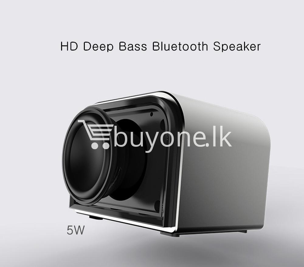 remax m8 mini desktop bluetooth 4.0 speaker deep bass aluminum mobile phone accessories special best offer buy one lk sri lanka 60115 - Remax M8 Mini Desktop Bluetooth 4.0 Speaker Deep Bass Aluminum