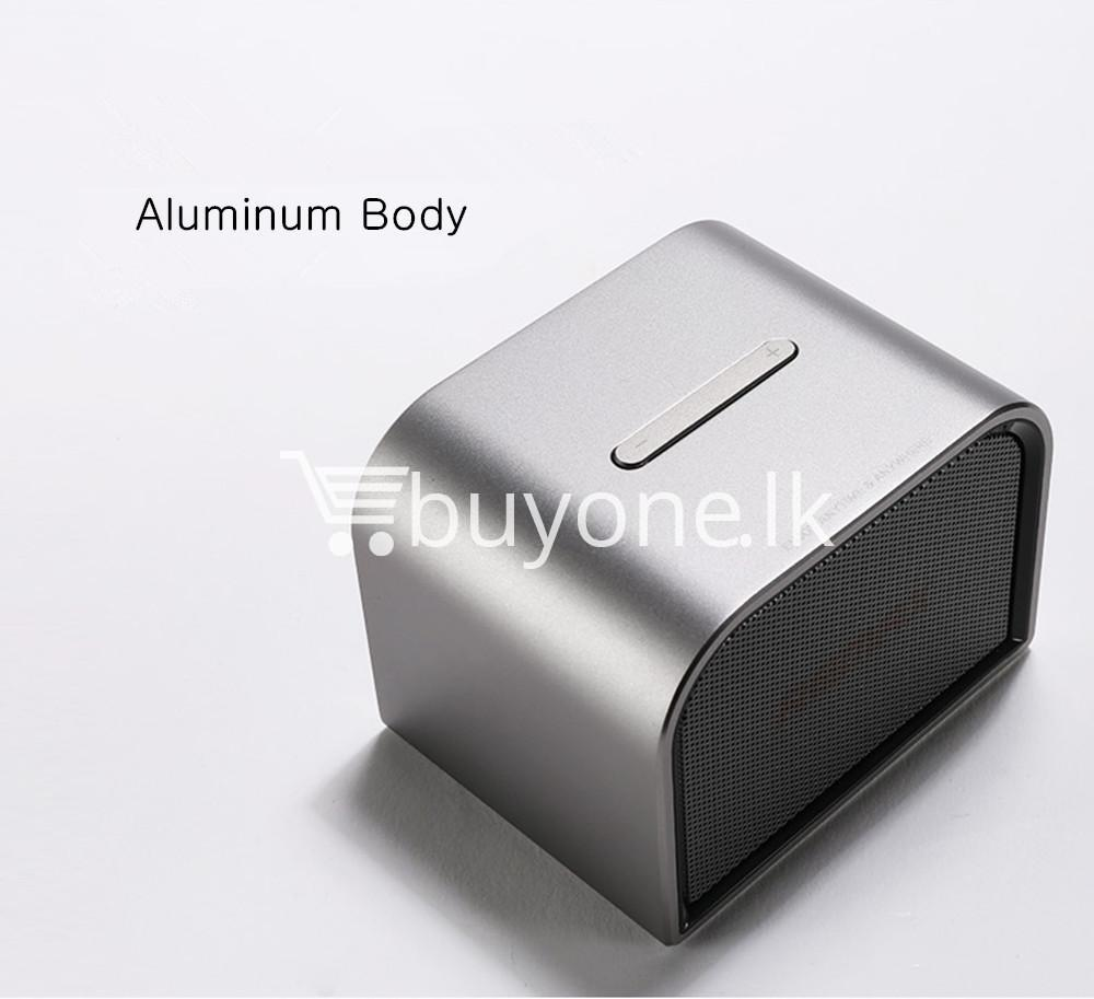 remax m8 mini desktop bluetooth 4.0 speaker deep bass aluminum mobile phone accessories special best offer buy one lk sri lanka 60116 - Remax M8 Mini Desktop Bluetooth 4.0 Speaker Deep Bass Aluminum