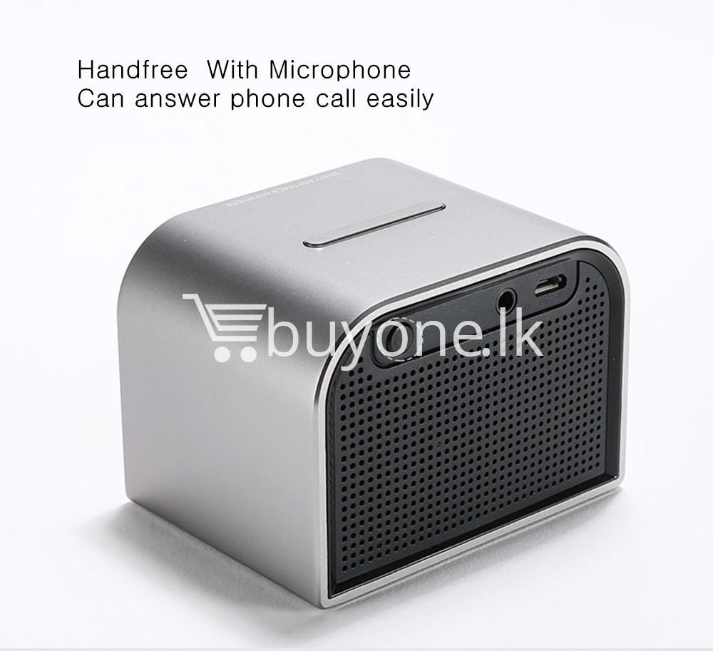 remax m8 mini desktop bluetooth 4.0 speaker deep bass aluminum mobile phone accessories special best offer buy one lk sri lanka 60121 - Remax M8 Mini Desktop Bluetooth 4.0 Speaker Deep Bass Aluminum