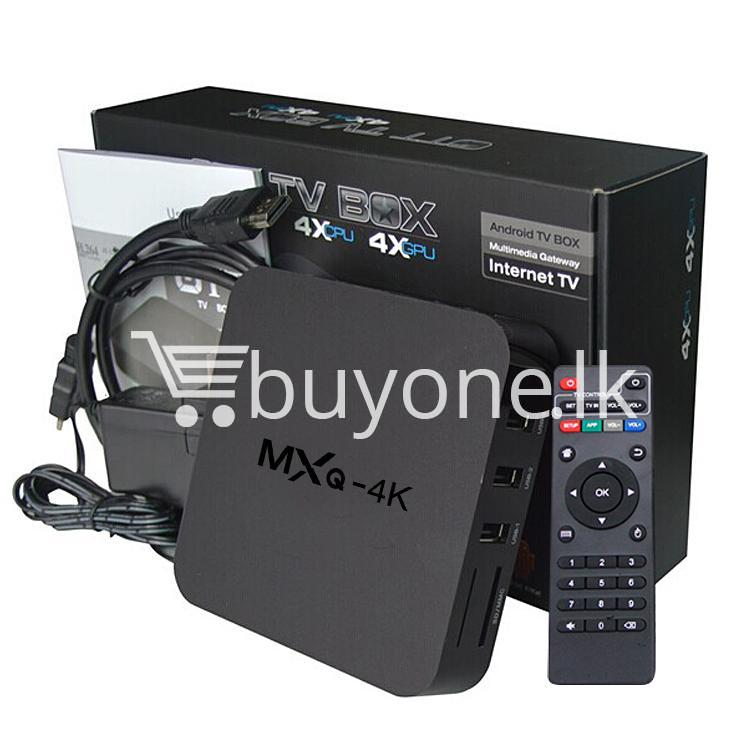 mxq 4k smart tv box kodi 15.2 preinstalled android 5.1 1g8g h.264h.265 10bit wifi lan hdmi dlna airplay miracast mobile phone accessories special best offer buy one lk sri lanka 50939 1 - MXQ 4K Smart TV Box KODI 15.2 Preinstalled Android 5.1 1G/8G H.264/H.265 10Bit WIFI LAN HDMI DLNA AirPlay Miracast