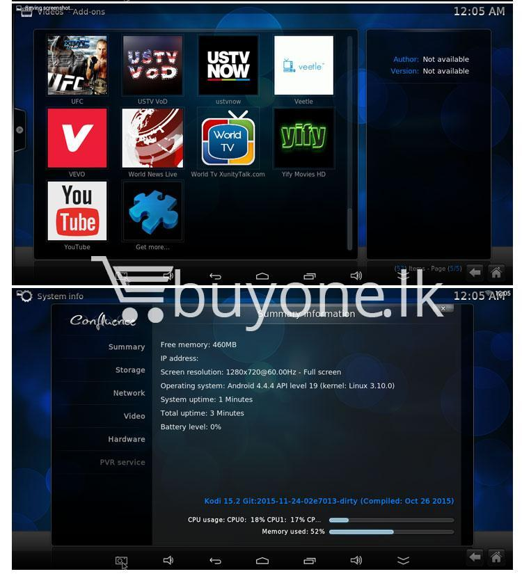 mxq 4k smart tv box kodi 15.2 preinstalled android 5.1 1g8g h.264h.265 10bit wifi lan hdmi dlna airplay miracast mobile phone accessories special best offer buy one lk sri lanka 50944 - MXQ 4K Smart TV Box KODI 15.2 Preinstalled Android 5.1 1G/8G H.264/H.265 10Bit WIFI LAN HDMI DLNA AirPlay Miracast