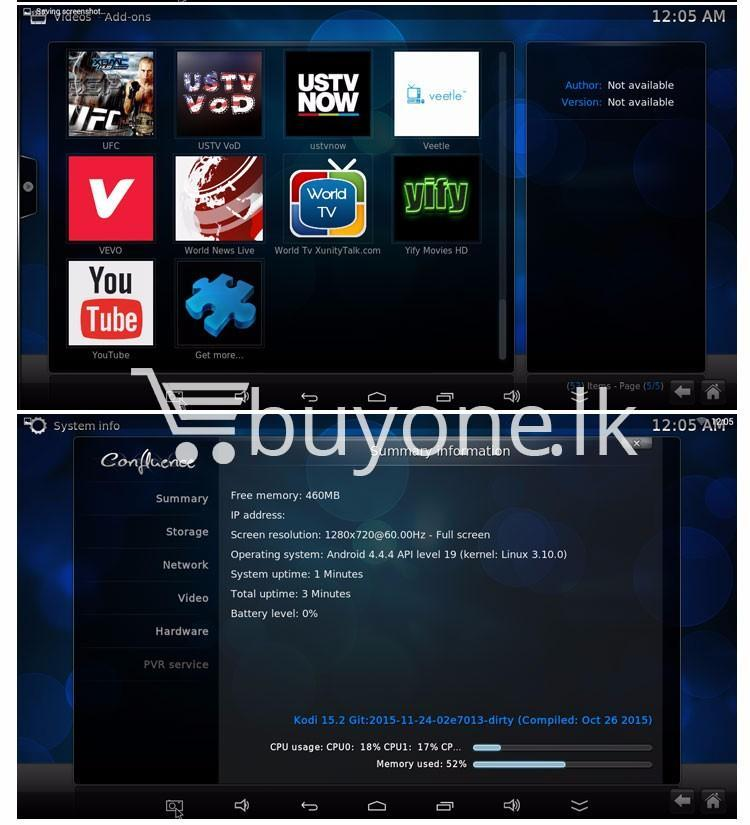 mxq 4k smart tv box kodi 15.2 preinstalled android 5.1 1g8g h.264h.265 10bit wifi lan hdmi dlna airplay miracast mobile phone accessories special best offer buy one lk sri lanka 50947 - MXQ 4K Smart TV Box KODI 15.2 Preinstalled Android 5.1 1G/8G H.264/H.265 10Bit WIFI LAN HDMI DLNA AirPlay Miracast