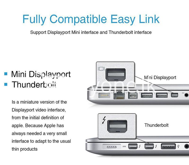 mini displayport thunderbolt to vga converter 1080p cables for macbook imac more computer accessories special best offer buy one lk sri lanka 43916 - Mini Displayport Thunderbolt To VGA Converter 1080P Cables For Macbook, iMac, More