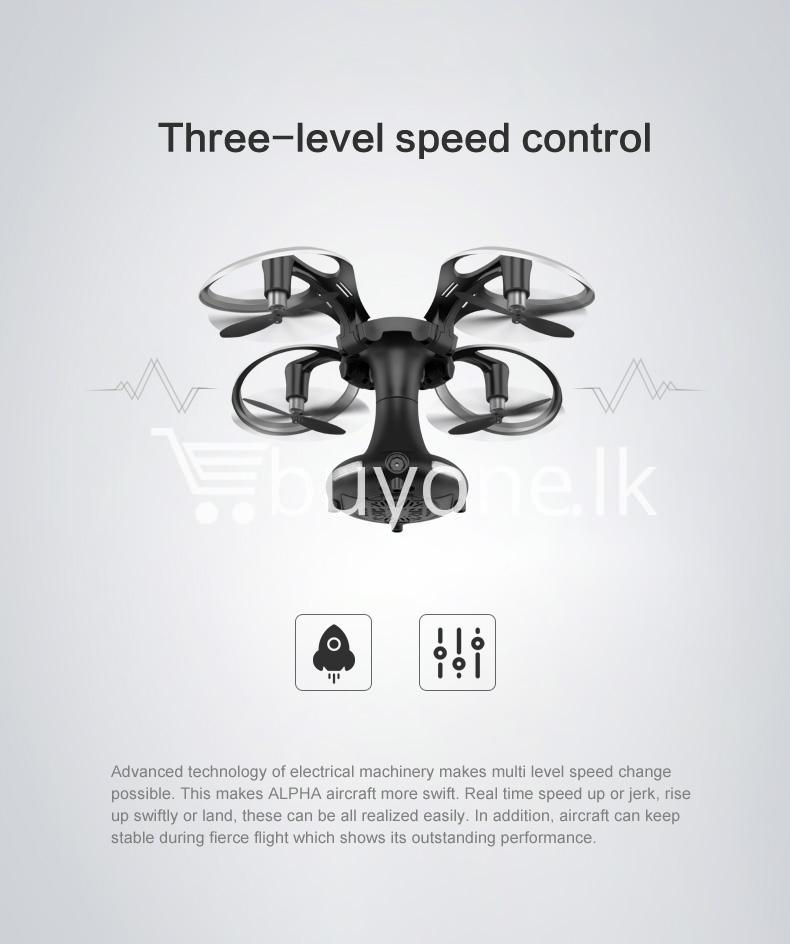 sirius alpha edrone wifi folding drone with controller phone holder action camera special best offer buy one lk sri lanka 04916 - Sirius Alpha EDRONE Wifi Folding Drone with Controller + Phone Holder
