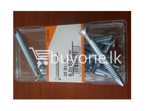 Screw-Nail-25pcs-hardware-items-from-italy-buyone-lk-sri-lanka