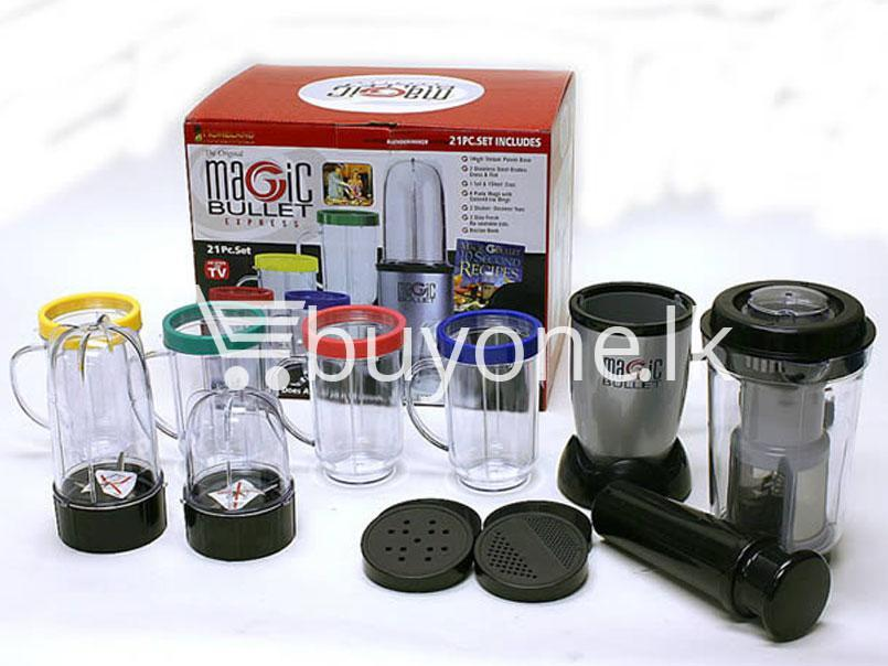 Magic Bullet Blender 21 Piece With Warranty Available In