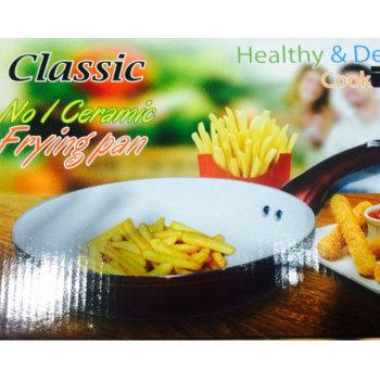 classic-no-1-ceramic-oil-free-frying-pan-24-cm-brand-new-buyone-lk-christmas-sale-offer-in-sri-lanka