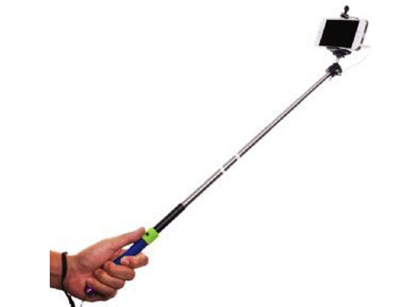 selfie stick with free built in selfie button version 2 0 online shopping store. Black Bedroom Furniture Sets. Home Design Ideas
