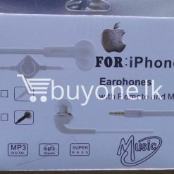 headphone for iphone with mic remote mobile phone accessories brand new sale gift offer sri lanka buyone lk 2 247x247 - Headphone for iPhone with Mic & Remote