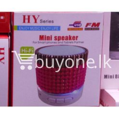 hy mini bluetooth speaker mobile phone accessories brand new sale gift offer sri lanka buyone lk  247x247 - HY Mini Bluetooth Speaker