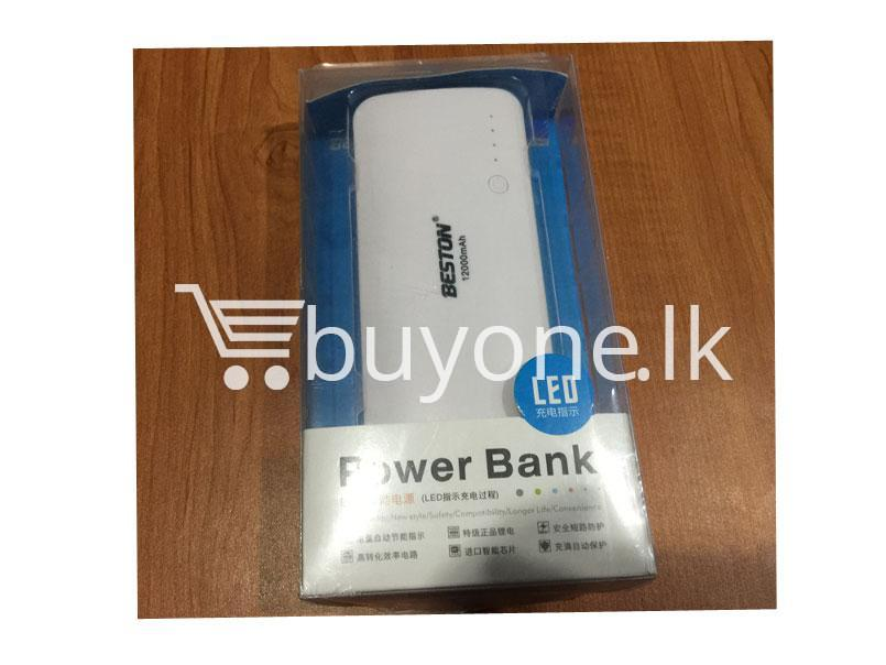 Original Beston Power Bank 12000 mah 3 charging socket port with LED Torch - Original-Beston-Power-Bank-12000-mah-3-charging-socket-port-with-LED-Torch
