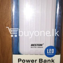 original beston power bank 13000 mah with dual socket port with led torch best deals send gift christmas offers buy one lk sri lanka 2 247x247 - Original Beston Power Bank 13500 mah with Dual socket port with LED Torch